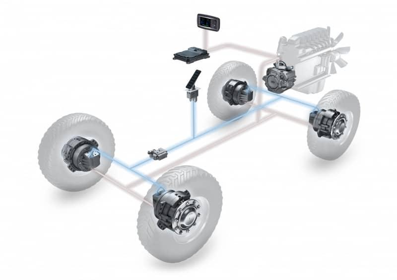 Alternatives to Axles: Hydraulic Direct Wheel Drive Motors