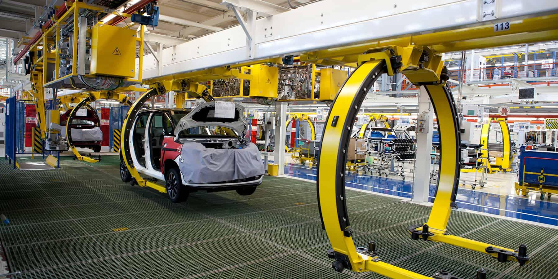 factory car production line