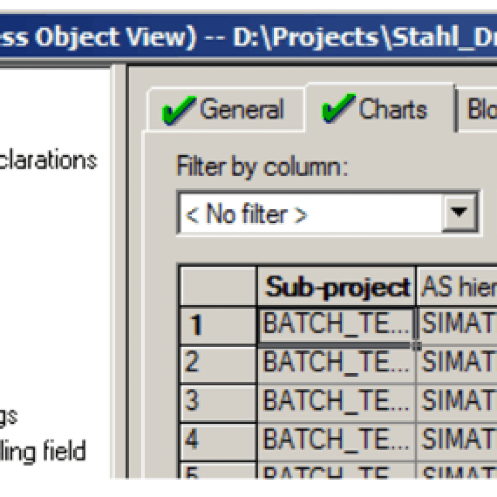 Siemens PCS 7 Tools: Process Object View 2