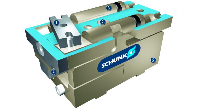 Schunk KTG50 Gripper Demo 1