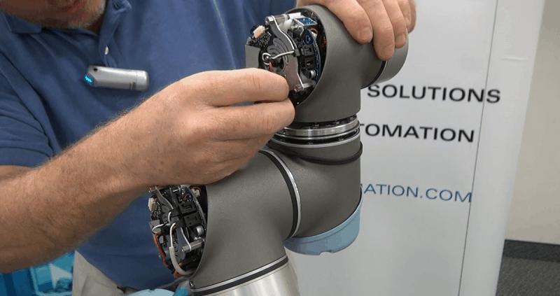 Universal Robots Model UR5 Joint Replacement Tutorial