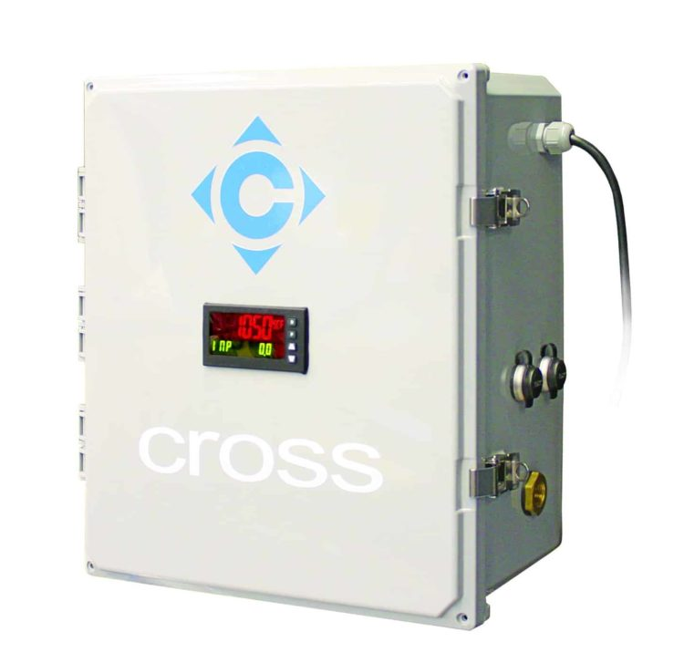 Monitors compressed air usage at the machine level